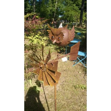 éolienne hibou