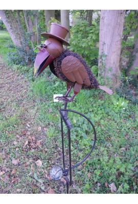 Mobile corbeau poil